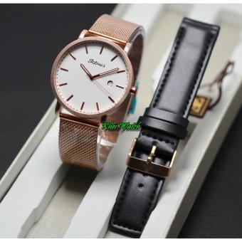 tetonis original ts1015 – jam tangan wanita – rantai pasir
