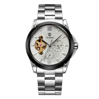 Tevise 629FEILUN2-B-G Tourbillon Top Brand Luxury Digital Casual Watch Men Business Wristwatch Automatic Mechanical Fashion Wrist Watches