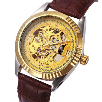 Tevise 8391B-J-P Men Casual Watches Fashion Automatic Mechanical Wristwatch - intl