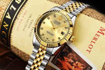 TEVISE bisnis arloji mekanis otomatis pria jam Waterproof - International