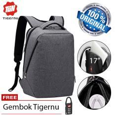 Rp 264510 Tigernu Original Tas Ransel Anti Maling Laptop Gaming 17 Inch Theft Waterproof BackpackIDR264510