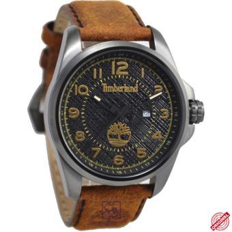 Timberland D47H138014768JSU-02MCKTMS Date Jam Tangan Pria Leather Strap