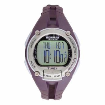 Timex 35mm Ironman Road Trainer with Heart Rate Monitor - Purple