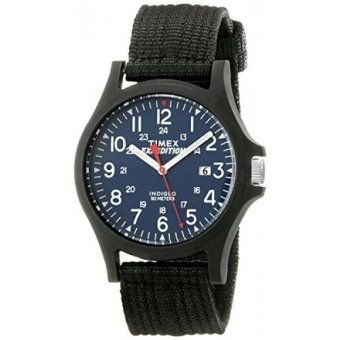 Timex Mens TW4999900 Expedition Acadia Blue/Black Nylon Strap Watch - intl
