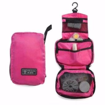 Travel Bag Organizer - Travel Mate - Tas Kosmetik - Pink
