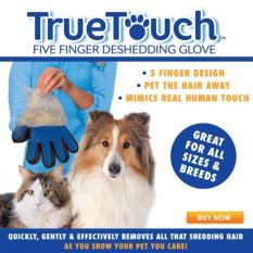 True Touch  Sarung Tangan  Bulu Hewan Anjing Kucing