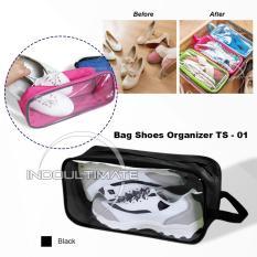 ULTIMATE SHOES POUCH Organizer / Tas Untuk Menyimpan Sepatu Murah TS-01 - Black
