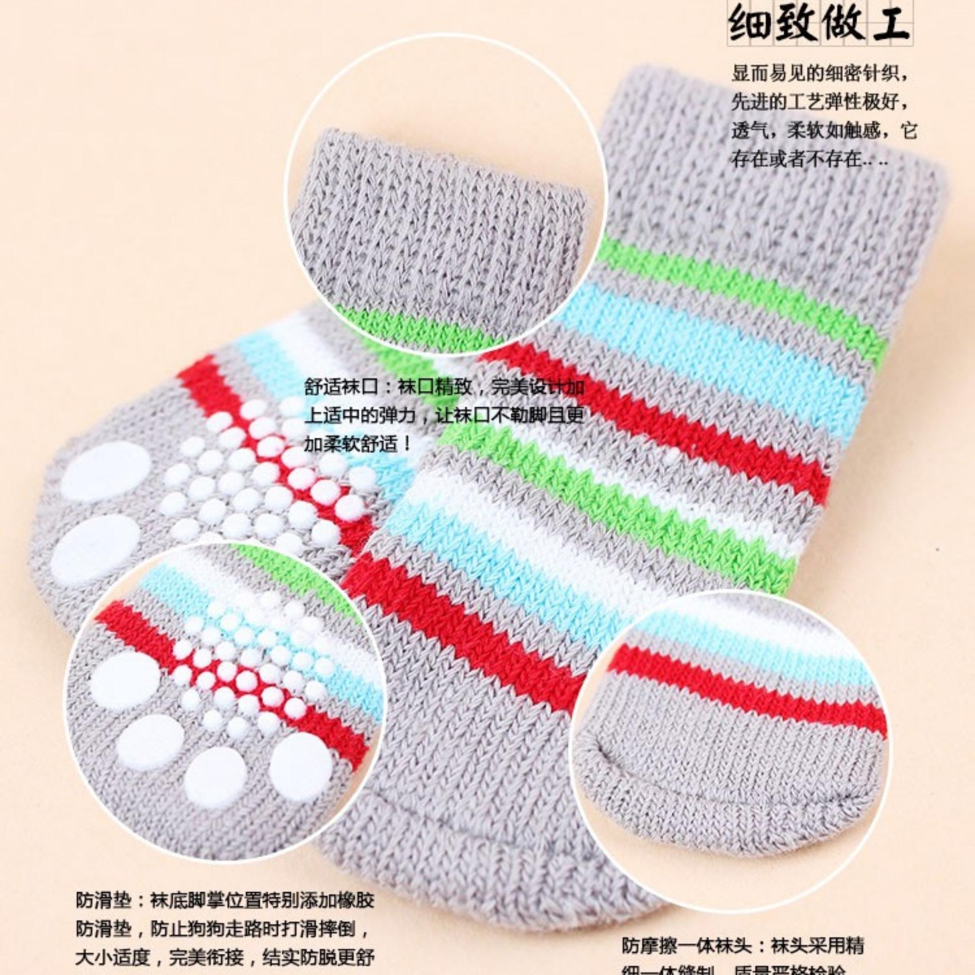 Unipet Kaos Kaki Anjing Kucing Dog Cat Sock Size M ..