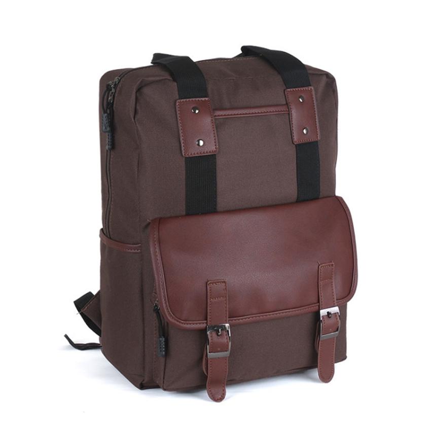 uNiQue Tas Ransel Laptop Backpack Korean Elite K-13 Brown - FREE .