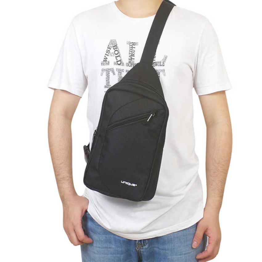 Unique Tas Selempang Cross Body Travel - Tas Punggung Tahan Air - Sling .