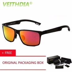 VEITHDIA Kacamata Hitam Sport dan Travel Elegant Mirrored UV400 Polarized Sunglasses - 6560