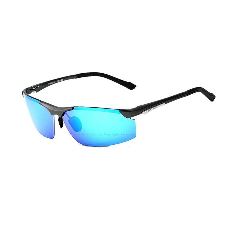VEITHDIA Magnesium aluminium kacamata terpolarisasi olahraga laki-laki itu lapisan cermin mengemudi .