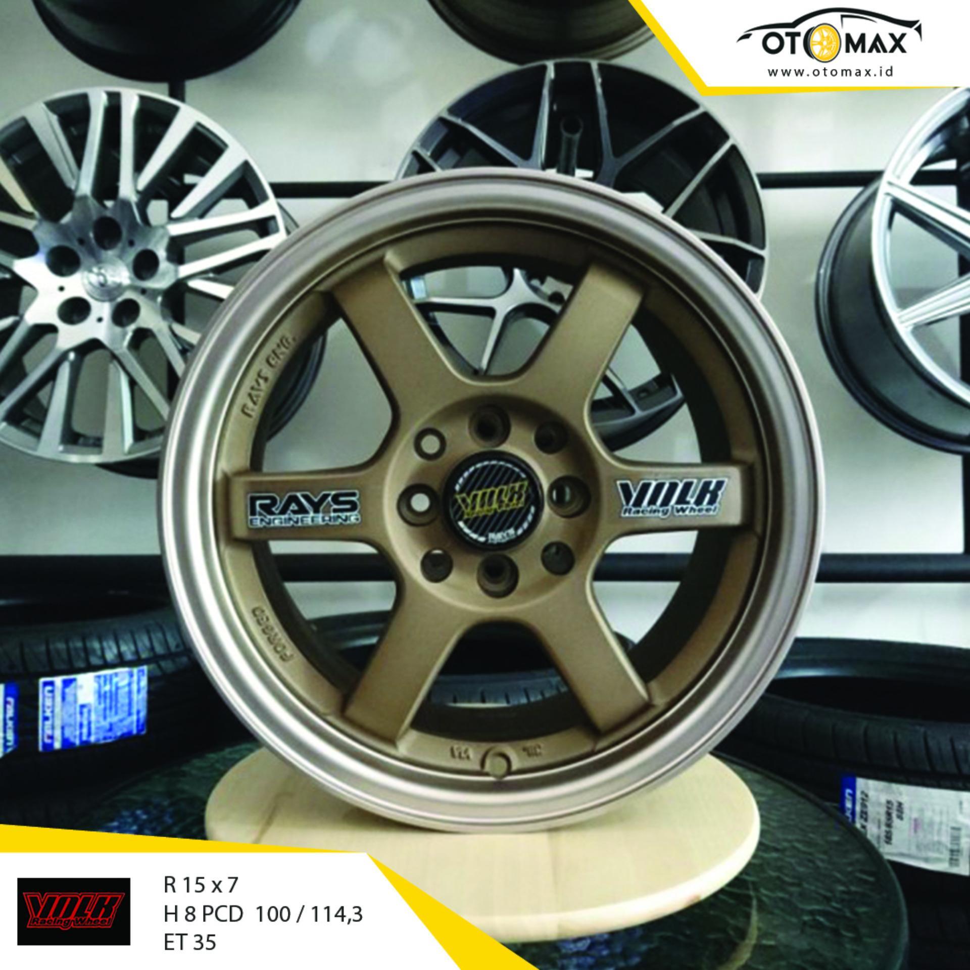 Bandingkan Toko Velg Volk Rays Te37 Ring 15 Wheel Protector Pelindung List Universal