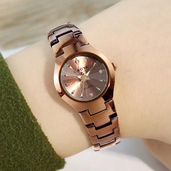 Rp 112.000. CEK HARGA DISKON 🡲. Versi Korea bercahaya sabuk baja jam tangan ...