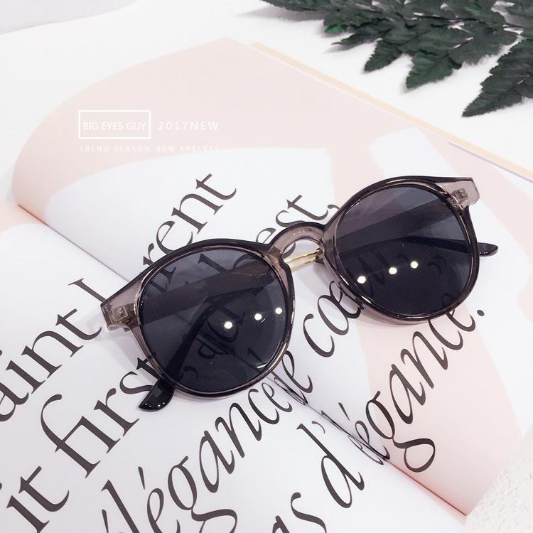 Versi Korea dari perempuan transparan bingkai kacamata hitam kacamata hitam kacamata hitam