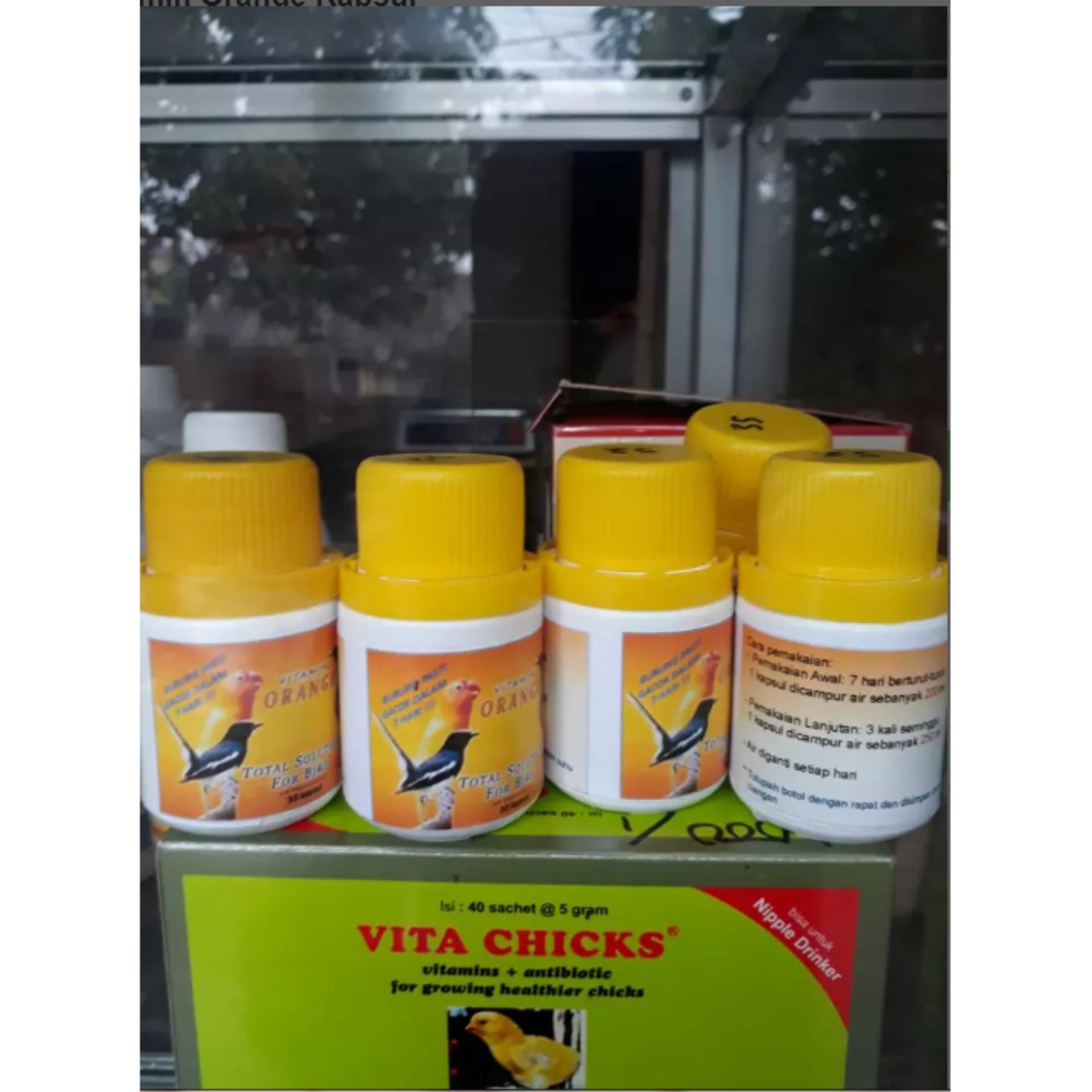 Vitamin Orange Kapsul untuk burung