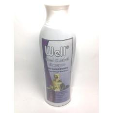 Well Shed Control/ Anti Rontok Shampoo [200ml] untuk anjing dan kucing