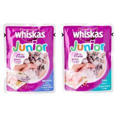 Whiskas Junior 85Gr / Makanan Kucing / Pakan Kucing