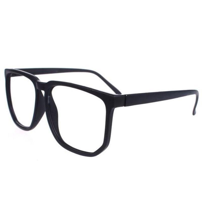 ... Women's Eyewear kacamata kebesaran Retro Plain kacamata ...