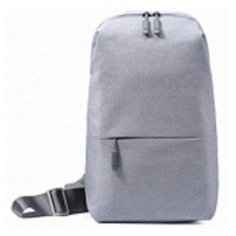 ... Xiaomi Tas Selempang Modern Style Multifunctional Chest Pack Crossbody Shoulder Abu Abu