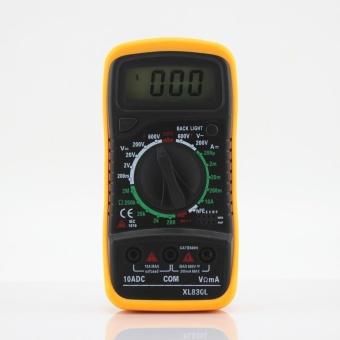 XL-830L Handheld LCD Digital Multimeter 3 1/2 Voltmeter OhmmeterMultitester F7 - intl - 4