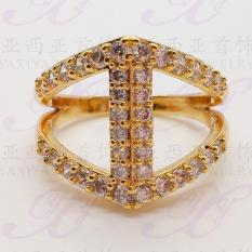 Xuping Cincin Permata Gold 18k