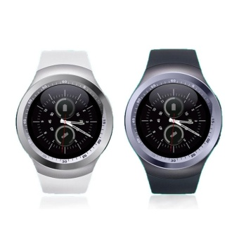 Y1 Bluetooth Smart Watch GPS SIM SMS Phone Mate Pedometer Sprorts Fitness - intl