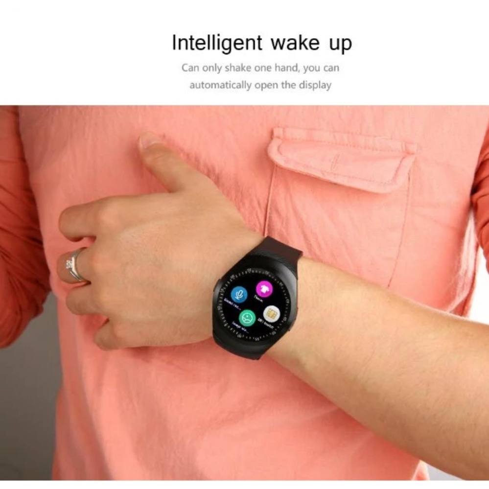 Flash Sale Y1 Smart Watch Dengan 154 Penuh Round Layar Mendukung Nano Sim Tf Kartu Pria