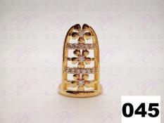 Yaxiya (anting kalung gelang) cincin kuku perhiasan imitasi