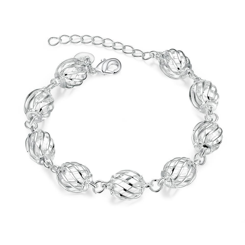 ZUNCLE handmade women european charm silver bracelet(Gold)