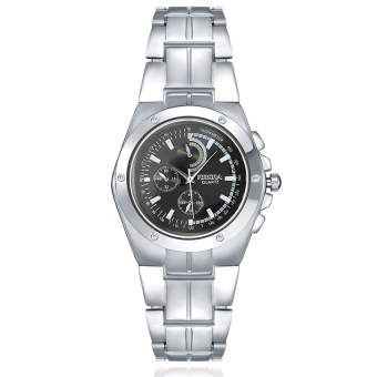 ZUNCLE Men Stainless Steel Casual Quartz Wrist Watch(Silver)