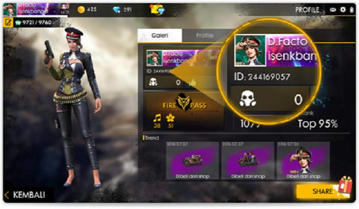 Garena Free Fire Top Up Diamond - Legal Via ID & Nickname