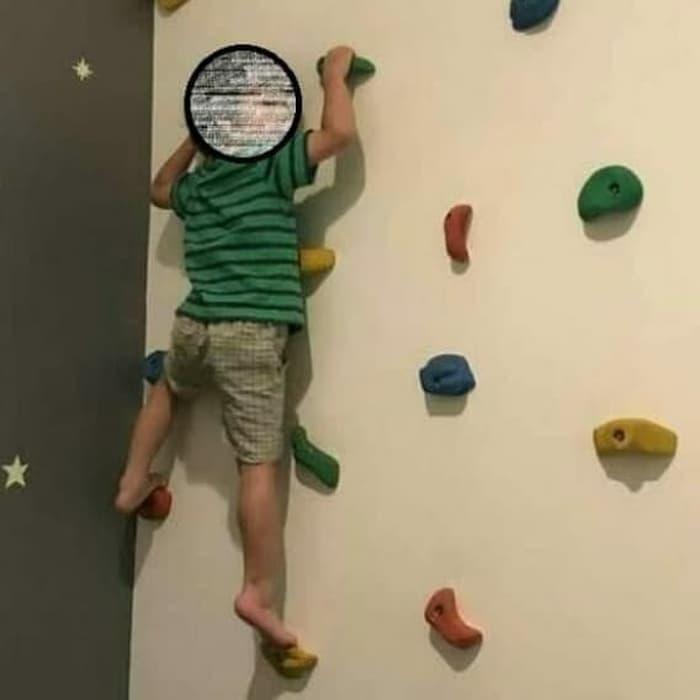 Point Panjat Dinding Untuk Anak Spider Kids Point Panjat Anak Isi 11pcs Point Panjat Point Bouldering Point Wall Climbing Point Boulder Climbing Holds Point