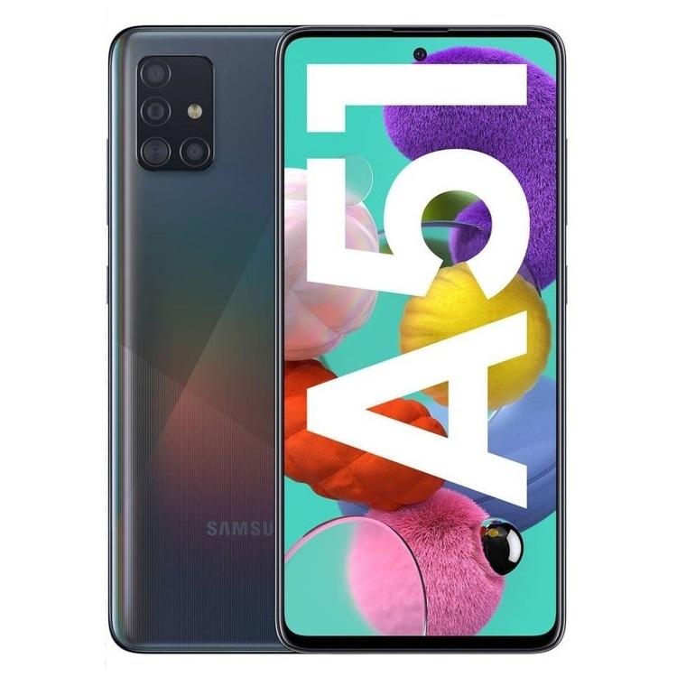 Samsung Galaxy A51 - 8GB/128GB - Black - Garansi Resmi
