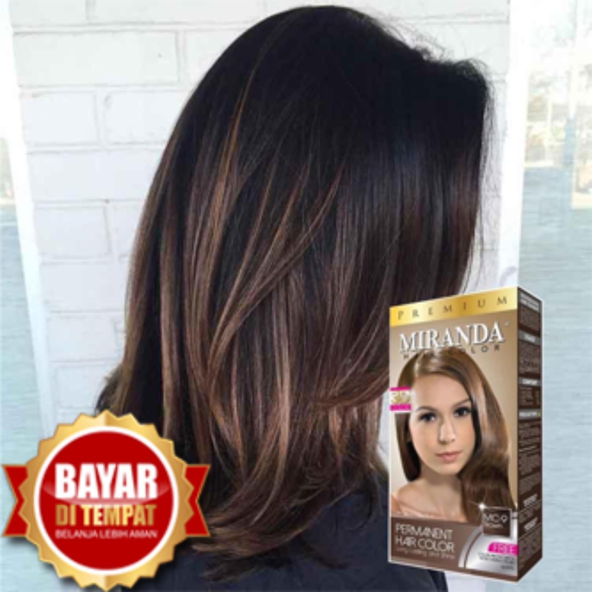 Miranda Premium Hair Color Original 100 Bpom Mc 4 Orange Cat Pewarna Rambut Cat Rambut Pikok Semir Rambut