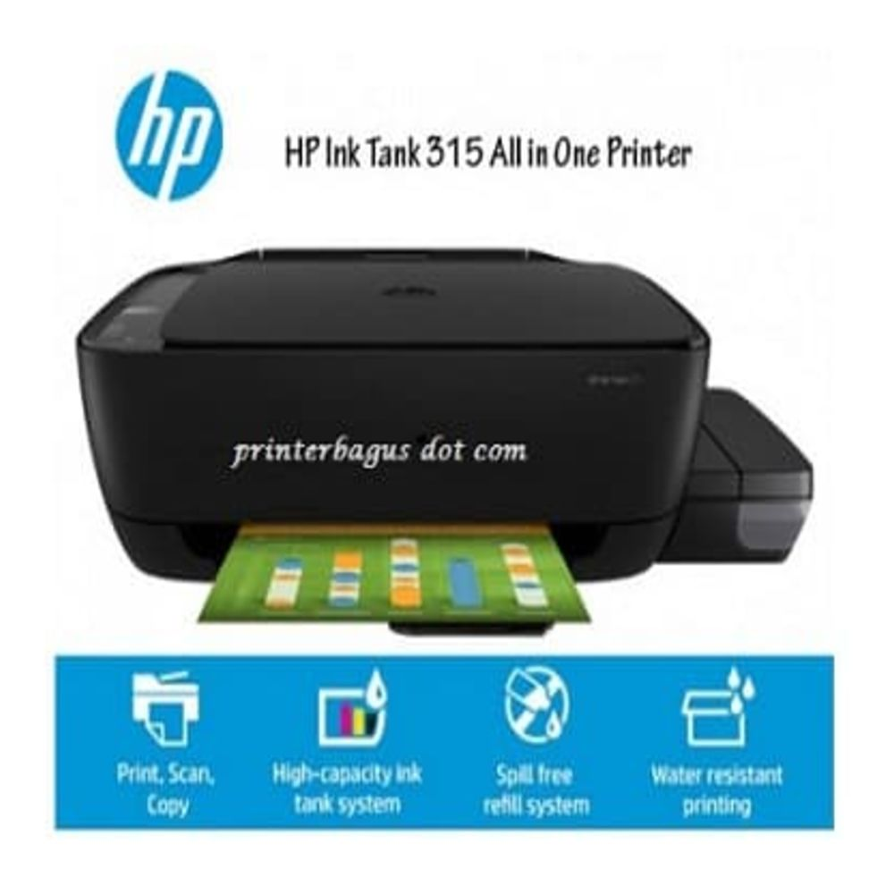 Hp Ink Tank 315 All In One Printer Lazada Indonesia