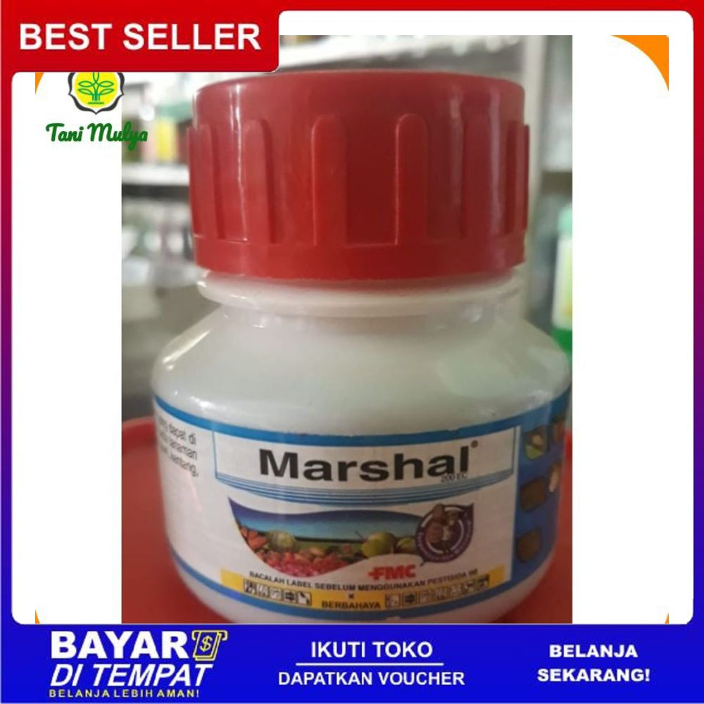 Insektisida Marshal Cair 200 Ec 100 Ml Lazada Indonesia