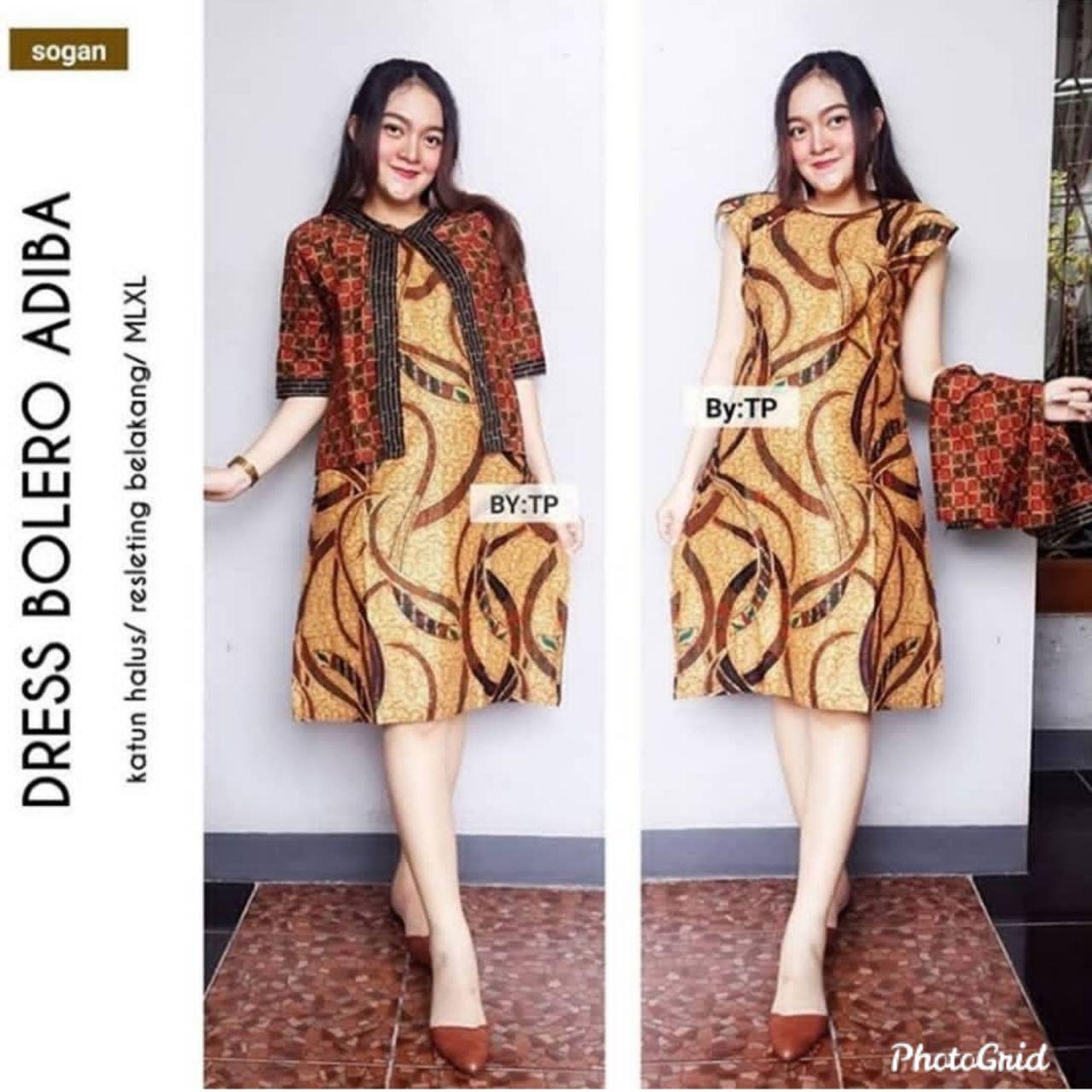 Model Batik Dress Modern Factory Store