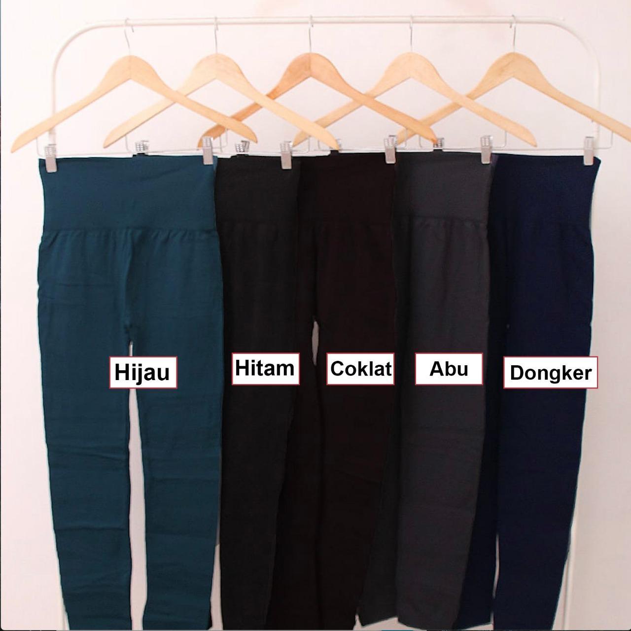 5 Warna Celana Legging Import Wanita Panjang Model Hw 120002 Murah Lazada Indonesia
