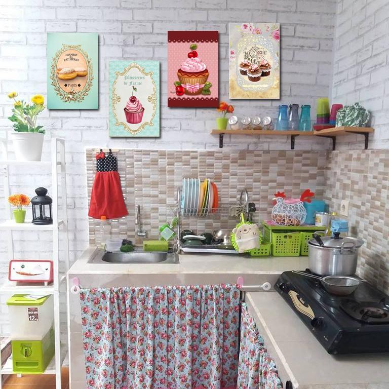 Hiasan Dinding Poster Kayu Wall