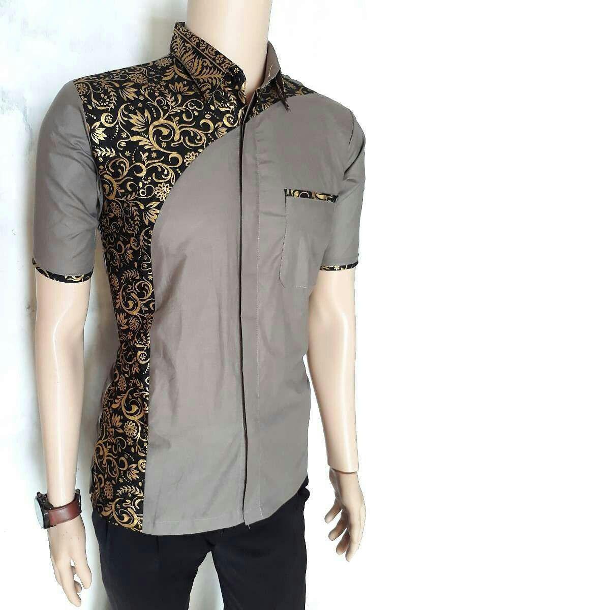Batik Pria Batik Pekalongan Kemeja Batik Eksklusif Baju Batik Modern Kombinasi