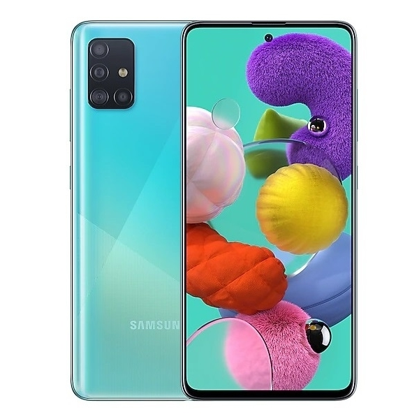 Samsung Galaxy A51 - 6GB/128GB - Blue - Garansi Resmi