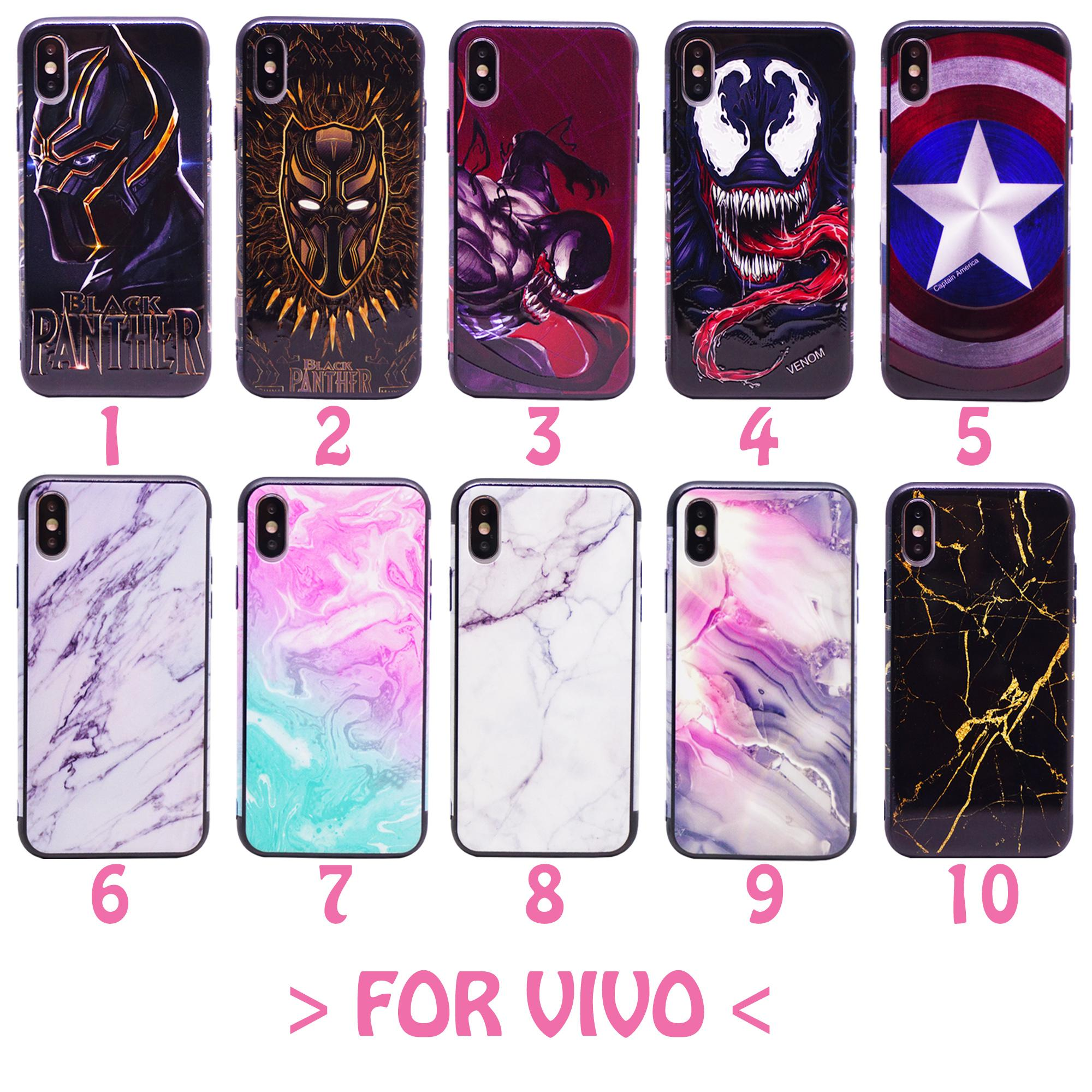 Vivo Y12 Y15 Y17 Full Body Art Soft Case