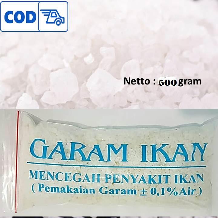 500 Gram Garam Ikan Mencegah Penyakit Ikan Aquarium Aquascape Lazada Indonesia