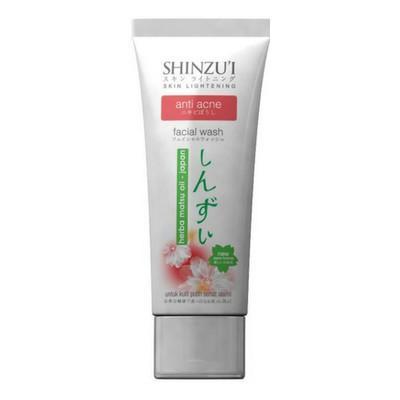 Shinzui Facial Foam Anti Acne Pembersih Wajah Sabun Cuci Muka