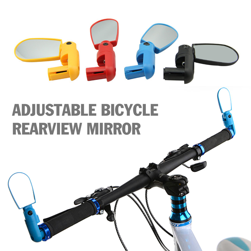 Bicycle Rearview Handlebar Mirrors MTB Bike Cycling Handle Rear View Mirror
