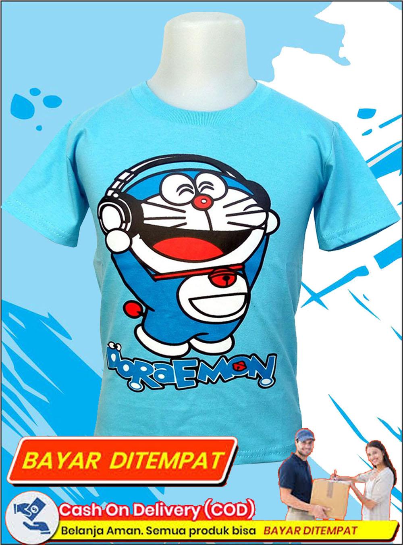New Kids New Normal Kaos Doraemon Kartun Lucu Untuk Usia 3 12 Tahun Kaos Anak Laki Laki Perempuan Kaos Oblong Keren Kaos Regelan Kaos Karakter Lengan Pendek Baju Harian Anak Baju