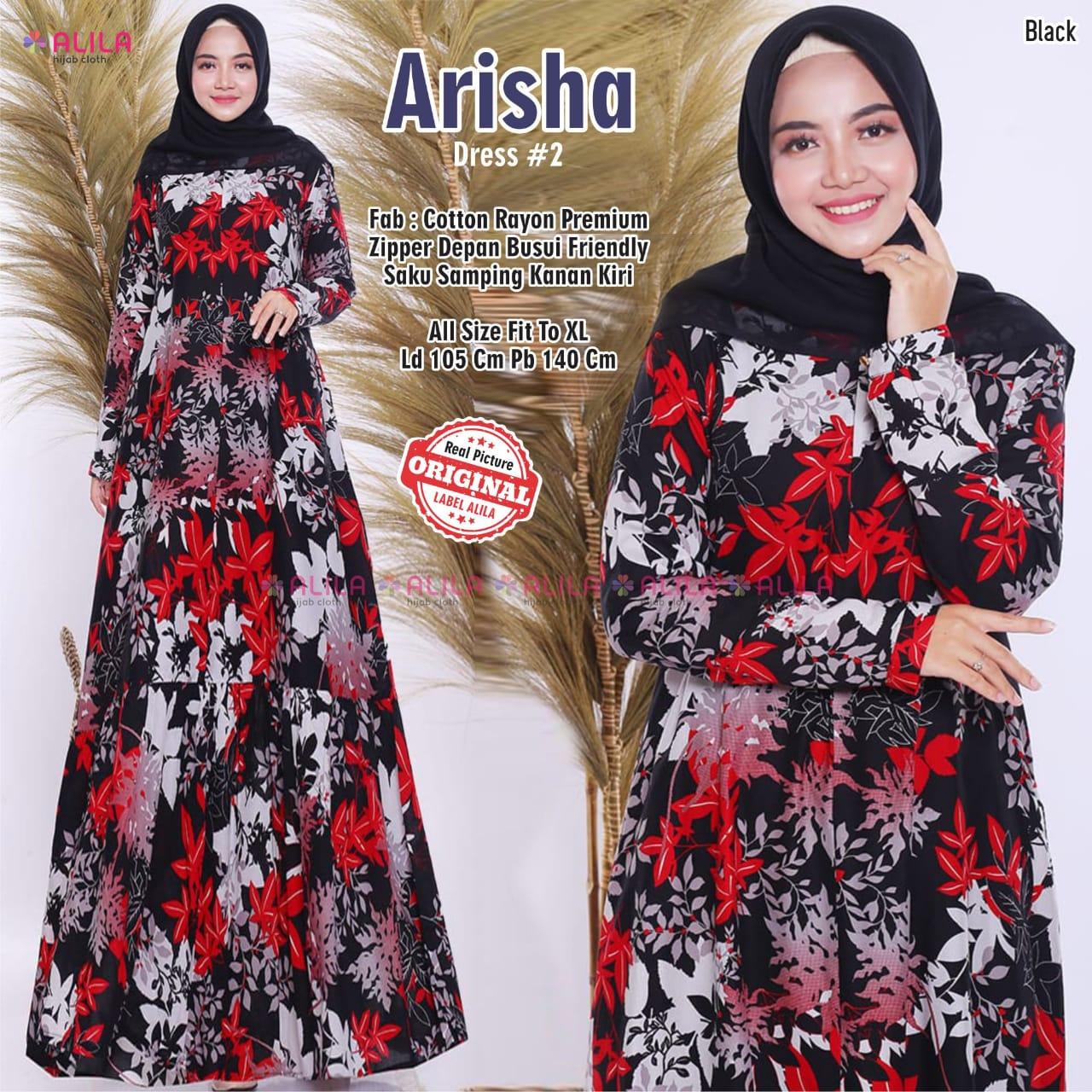 Dress Arisha #10 Katun Rayon Premium  Model Gamis Terbaru 100100 Untuk  RemajaModel Baju dress Panjang EleganDress Baju Muslim Wanita  TerbaruSketsa