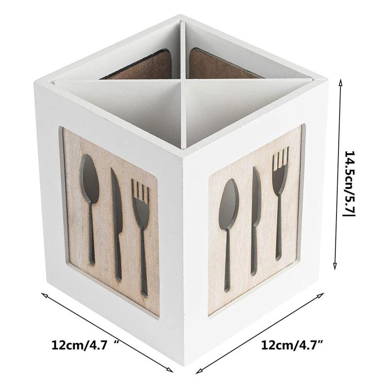 Spoon Chopsticks caddy Holder Fork organizer Storage housewarming gift set