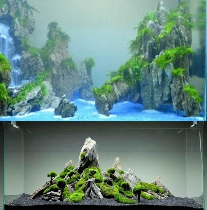 Batu Fosil Pasir Akuarium Aquascape 1kg